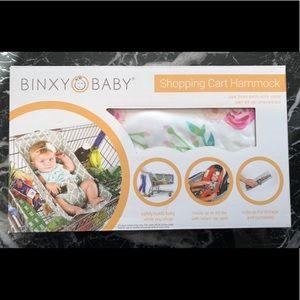 New Binxy Baby Shopping Cart Hammock Floral